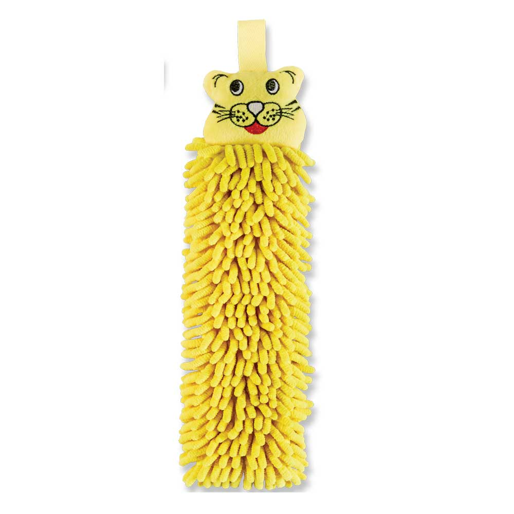 Kids Pet To Dry, Yellow Tiger