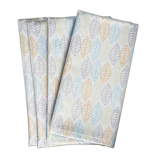 Norwex Napkins, leaf pattern