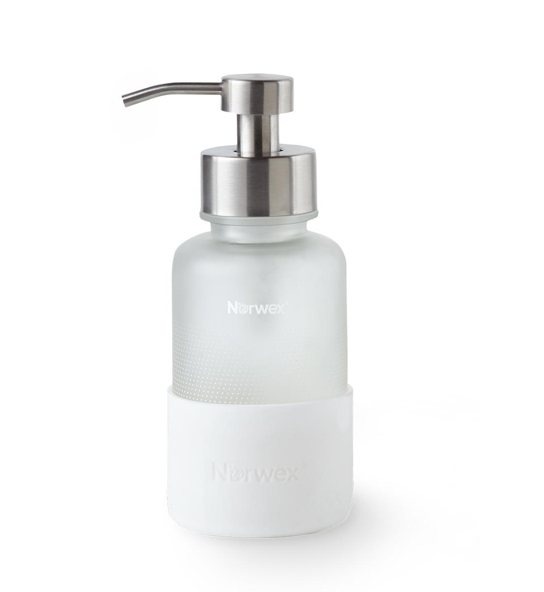Forever Bottle with Foaming Hand Wash Dispenser, white