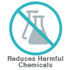 Reduces Harmful Chemicals