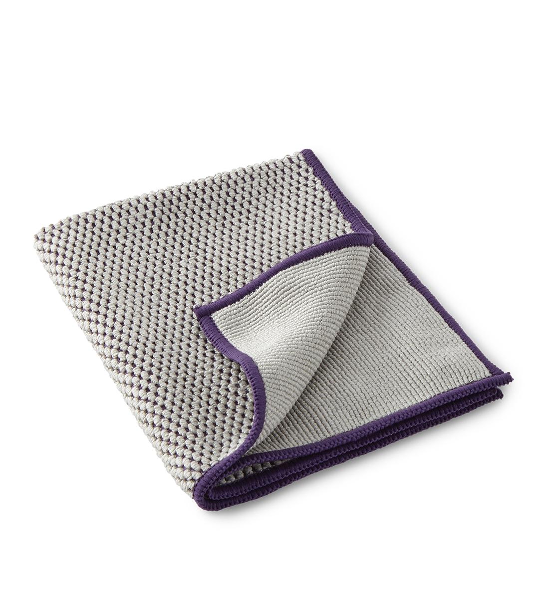 Limited Edition Textured Kitchen Cloth, graphite/purple