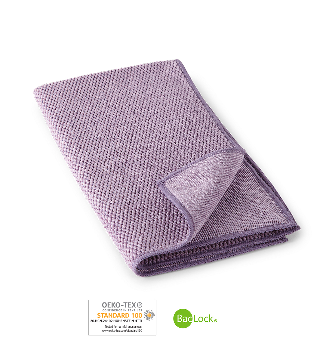 Textured Kitchen Towel, amethyst