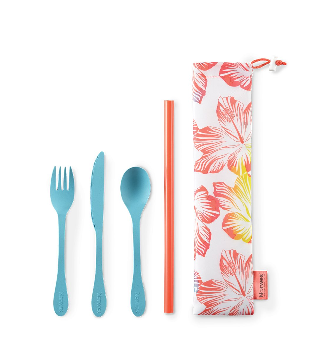 Eco Utensils and Straw Set
