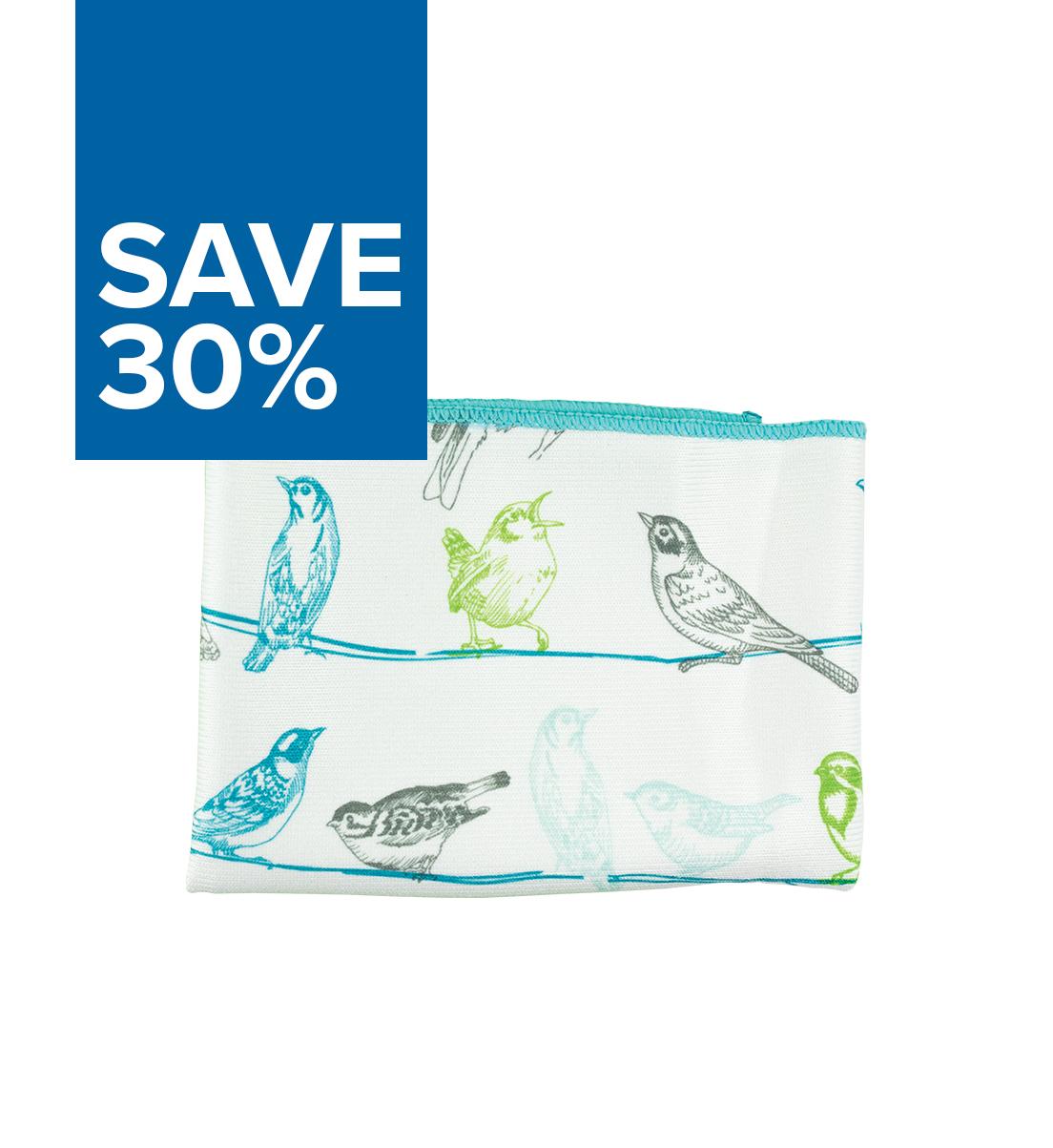 Window Cloth, bird