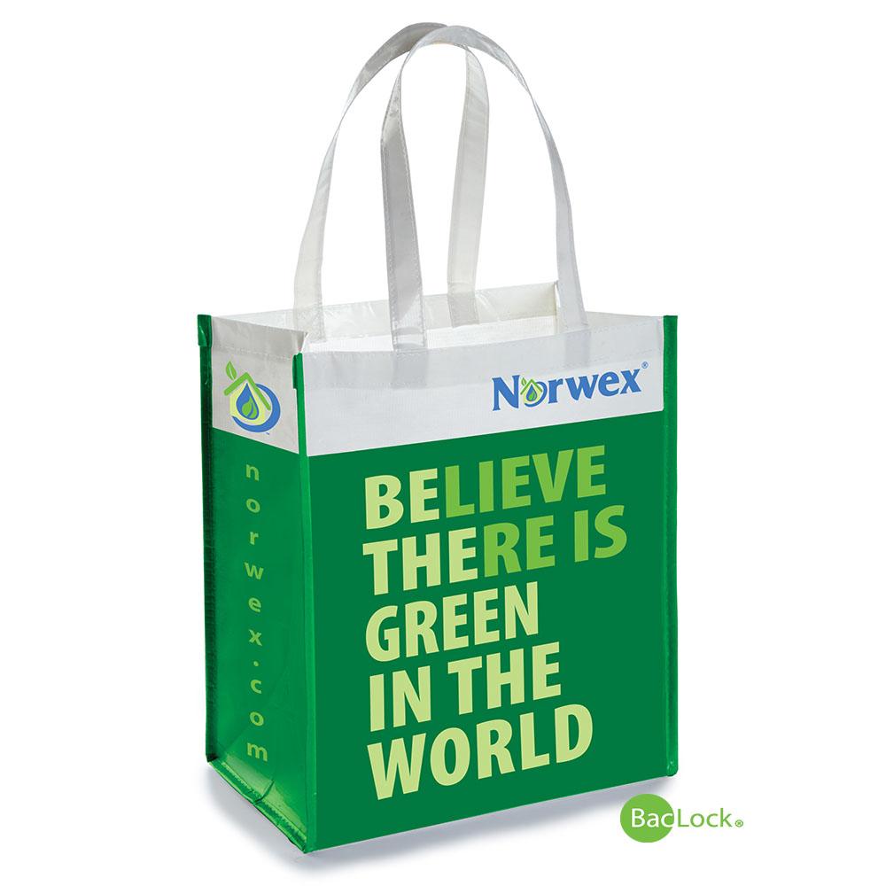 Reusable Grocery Bag With Baclock